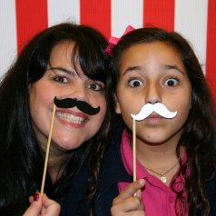 Carolina & I at a school event last year!