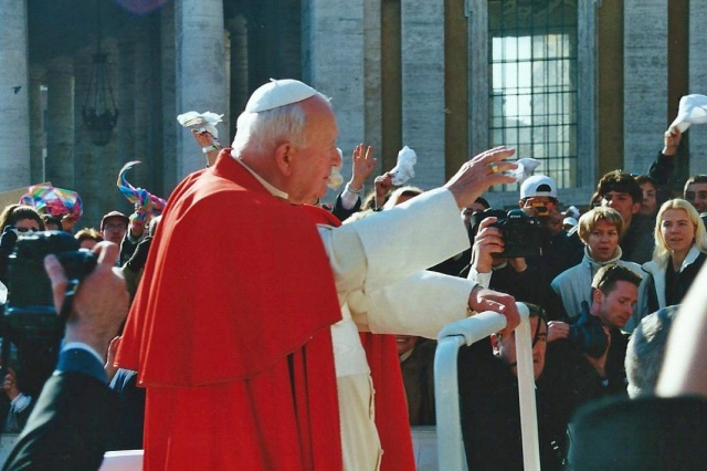Papal Audience with Pope John Paul II