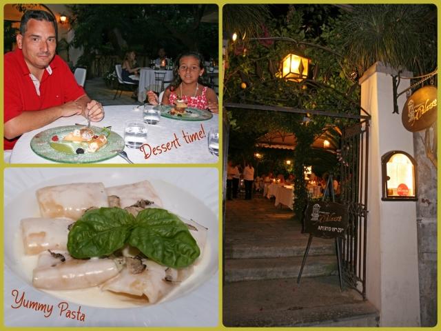 Dinner at Ristorante Al Palazzo