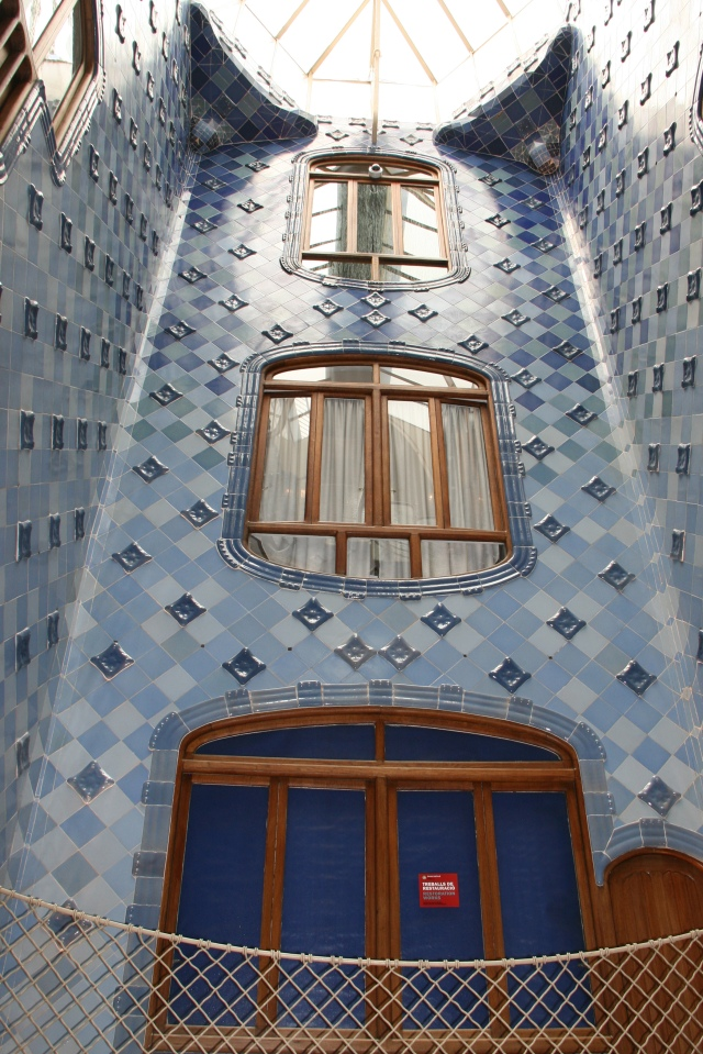Interior wall of Casa Batlló