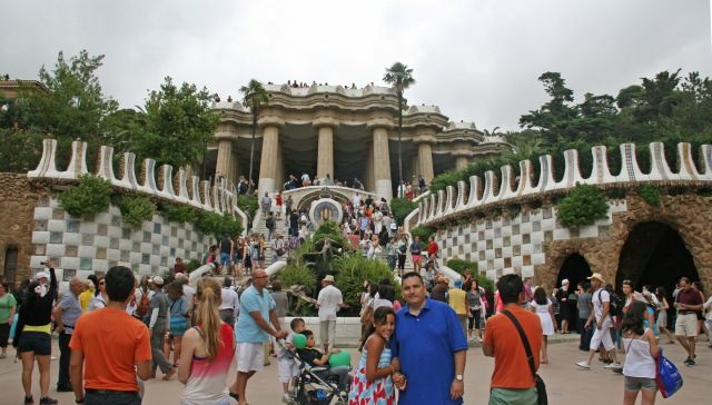 Entrance to Parc Güell