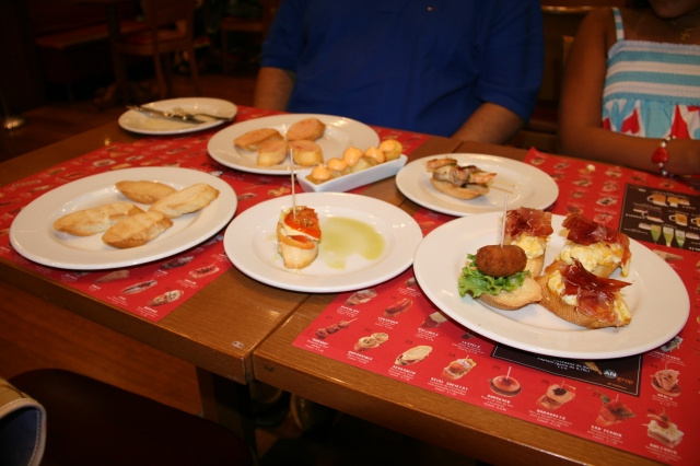 More yummy tapas