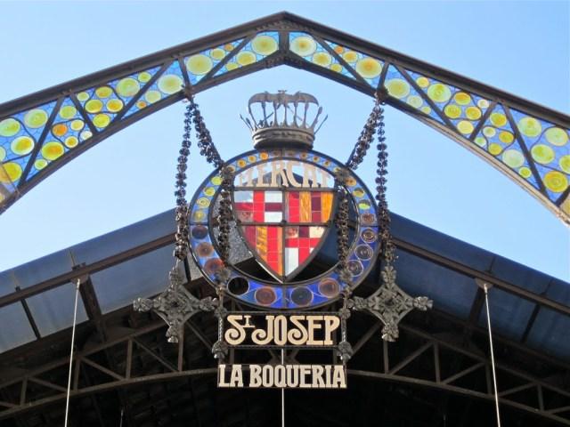 La Boqueria Entrance