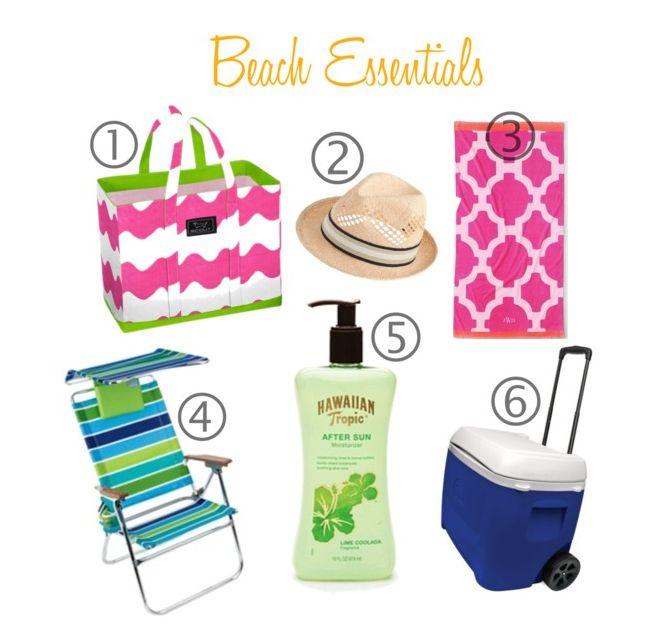 Beach Essentials Collage