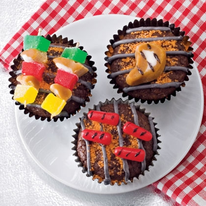 Cupcakes for the griller Photo courtesy of spoonful.com