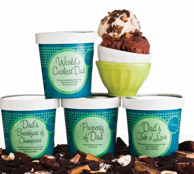 Father's Day Ice Cream Collection Gift Packs Photo Courtesy of ecreamery.com