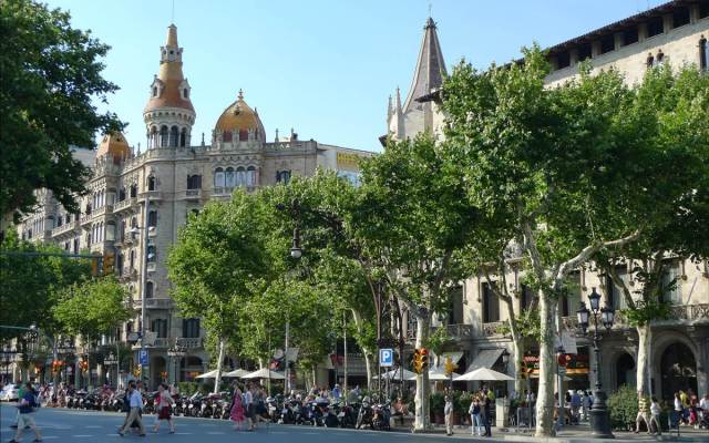 Passeig de Gracia The 5th Avenue of Barcelona