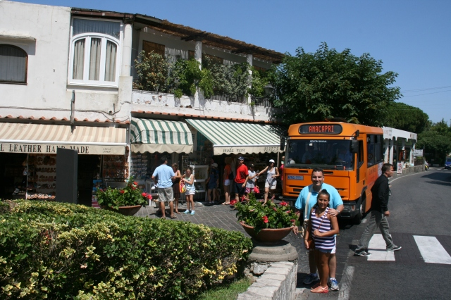 Piazza Vittoria, Anacapri