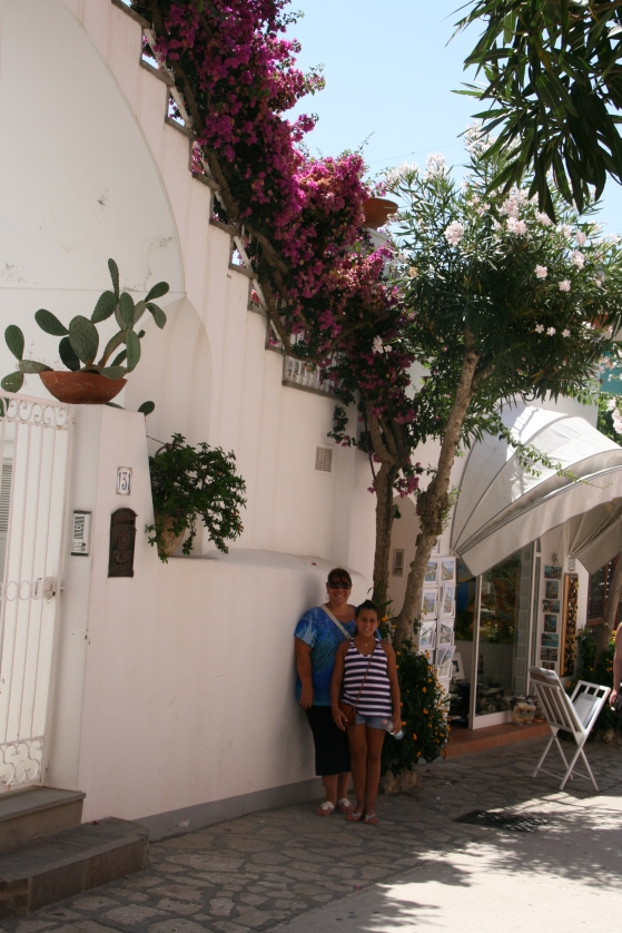 Typical street in Anacapri