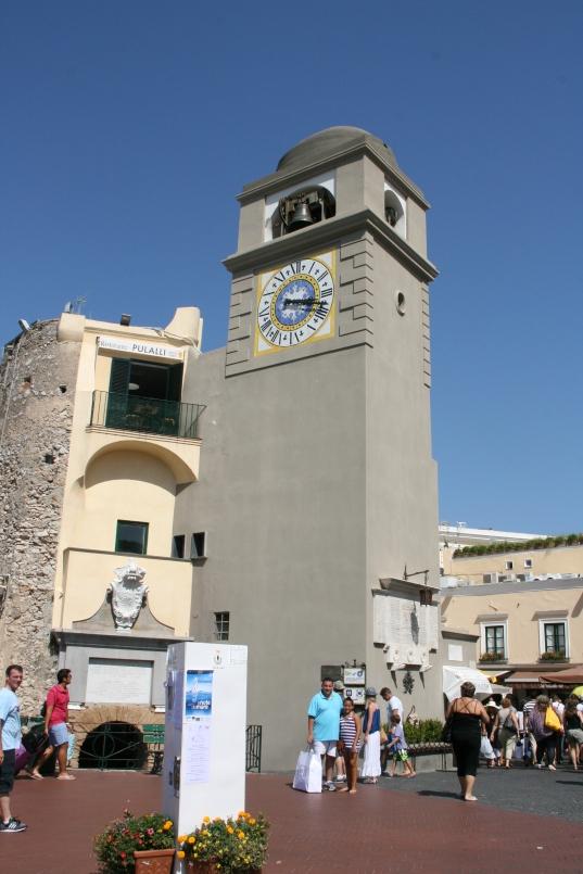 Torre de Orologio on the Piazetta