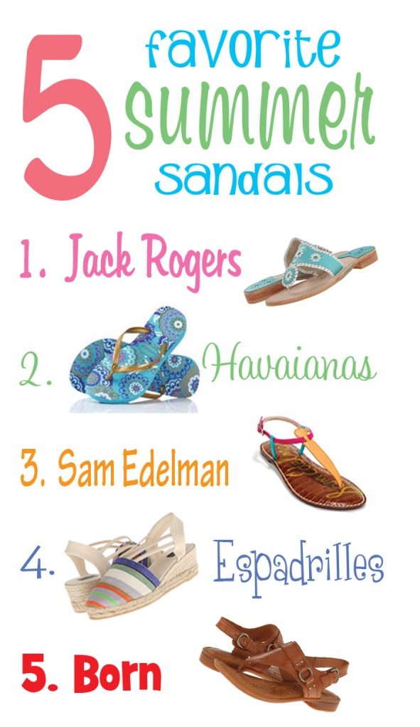 My Favorite Sandals