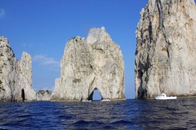 Faraglioni rock formations