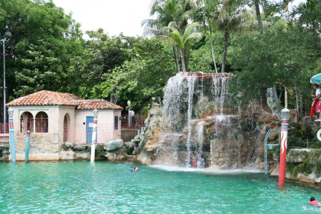 The beautiful Venetian Pool