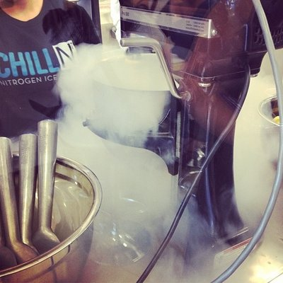 Ice Cream in the making!