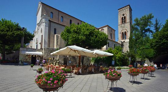 Ravello's Main Square