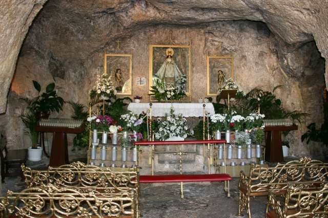 Inside of the shrine