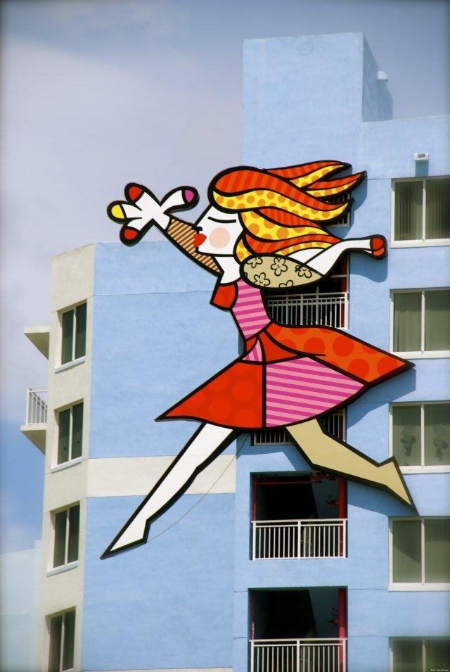 A condo building near I-95 in Miami.