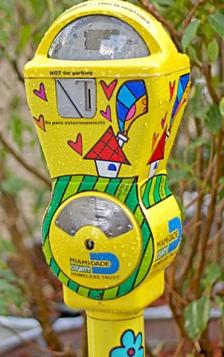 Homeless Meters
