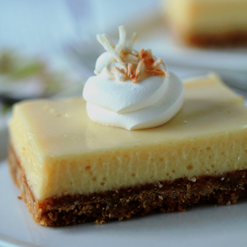 Key Lime Pie Bars, recipe here.