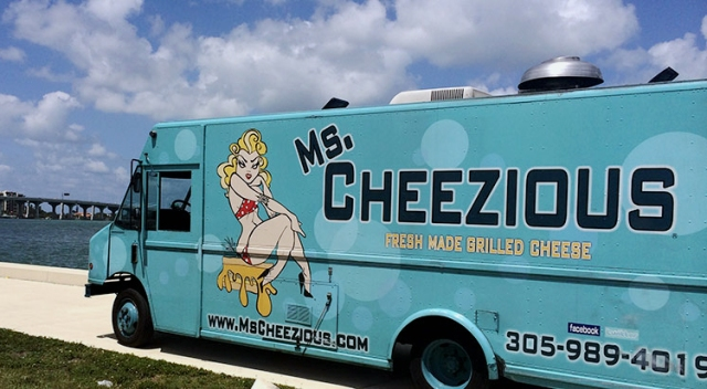 The Ms. Cheezious truck