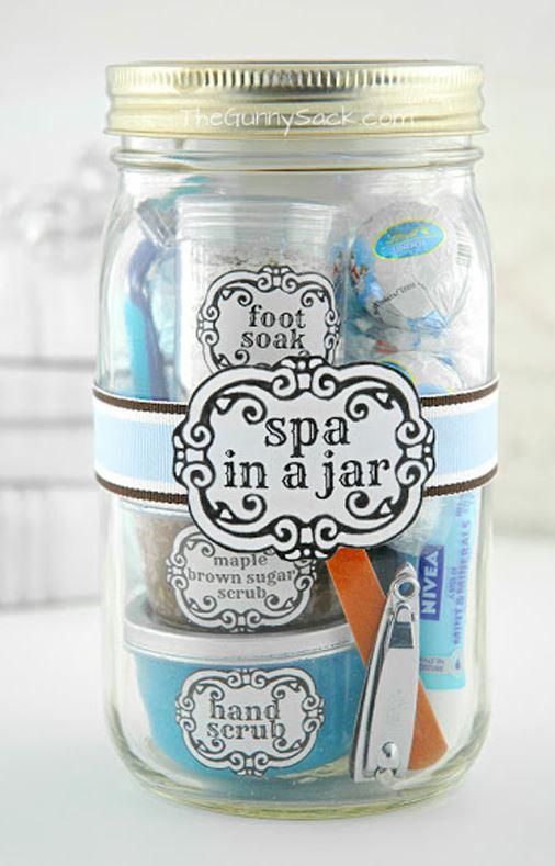 Spa in a Jar, click here.
