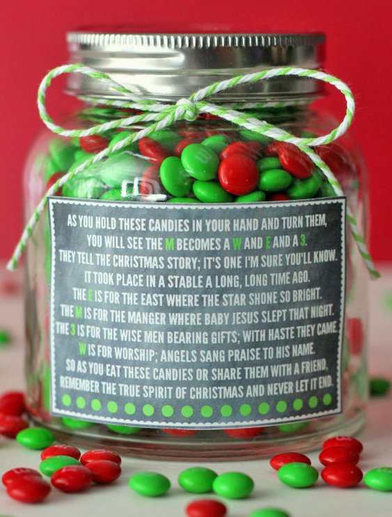 M&M Poem Jar, click here.