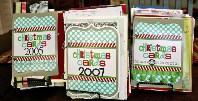 Christmas Card Books, click here.