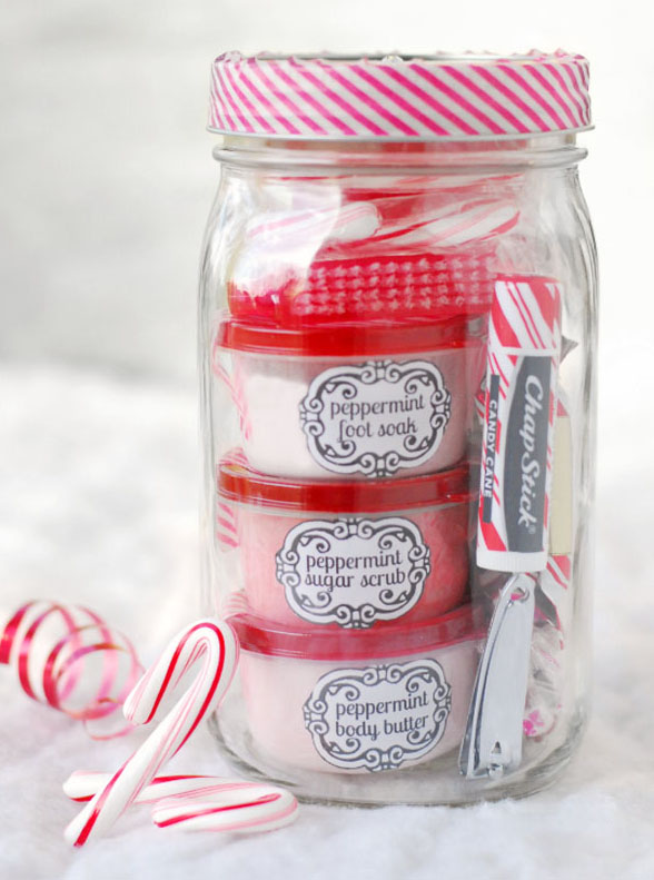 Peppermint Pampering Mason Jar, click here.