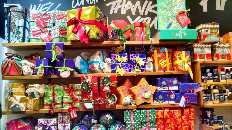 Christmas Package Display