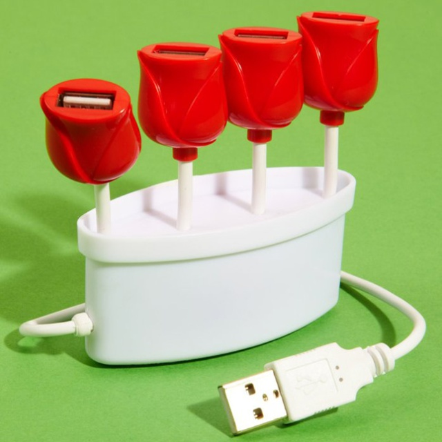 USB Tulip Hub, found here.