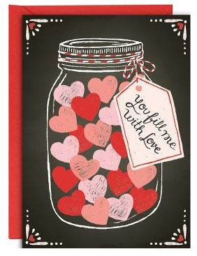 Valentine's Day cards available at www.papersource.com