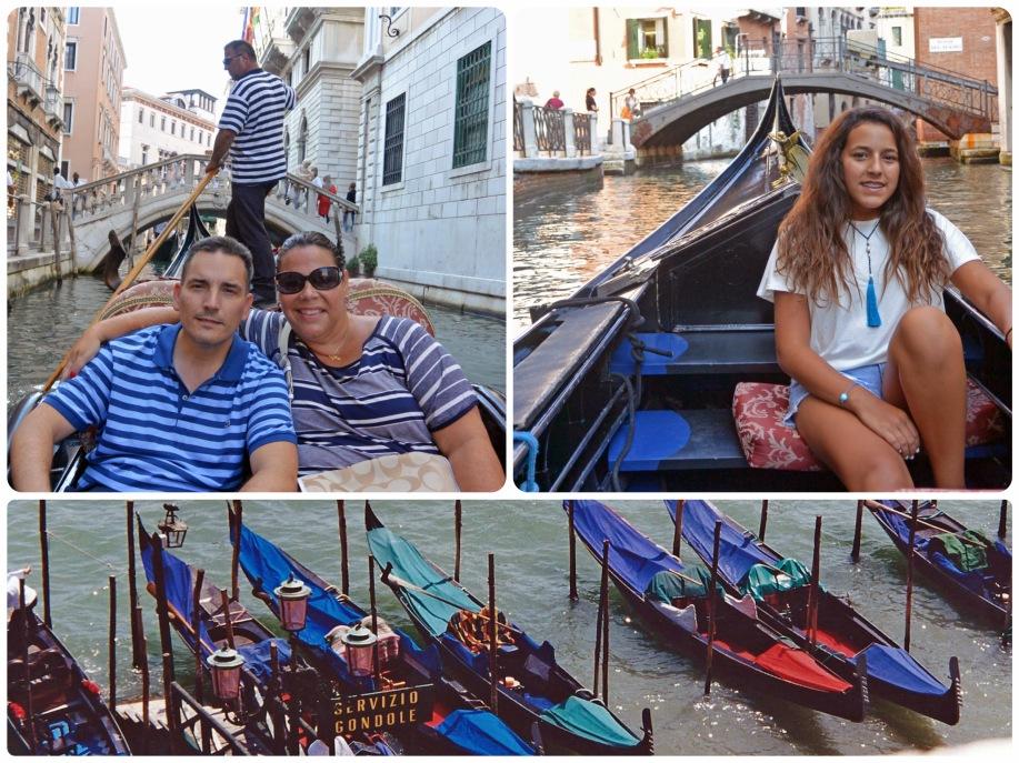 Gondola rides...