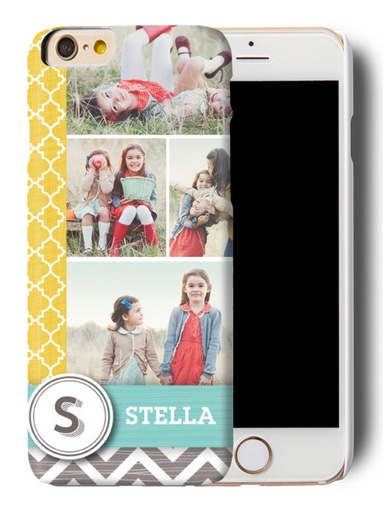 Personalized phone case from tinyprints.com