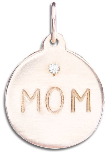 Mom charm by Helen Ficalora
