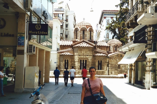 The Church of Panaghia Kapnikarea is a Greek Orthodox church and one of the oldest churches in Athens