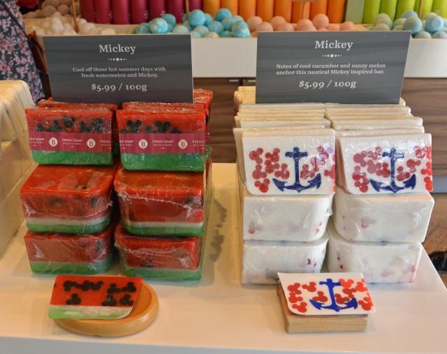 Mickey soap bars