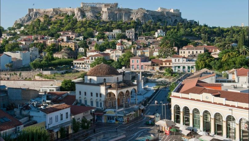 Monastiraki Square, photo courtesy of www.visitgreece.gr