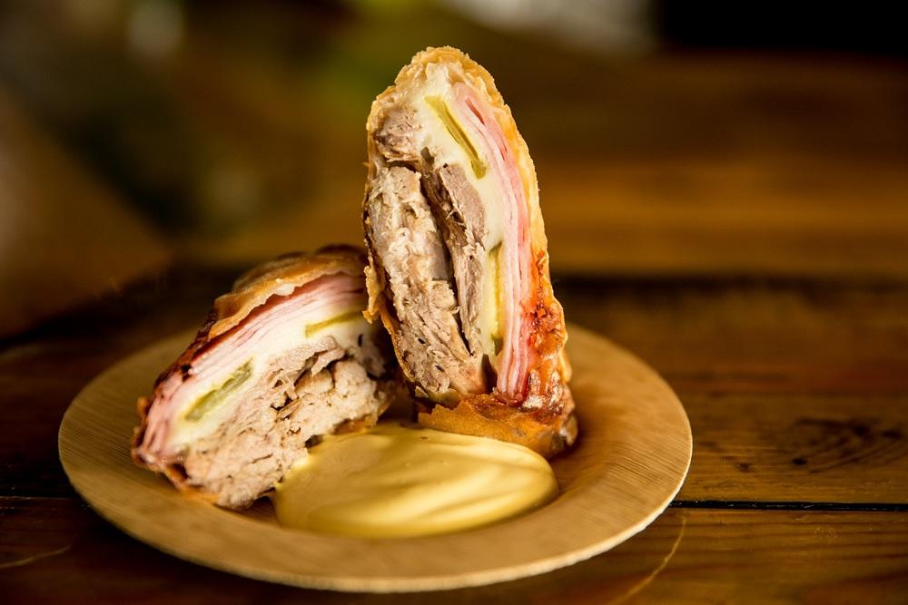 Cuban Sandwich Spring Roll at Ball & Chain
