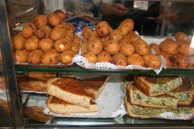 Other delicious pastries and snacks sold in the cafe.