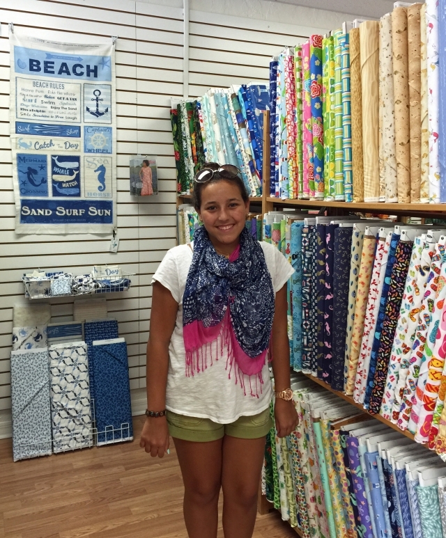 My daughter, being the crafter that she is, loving this store!