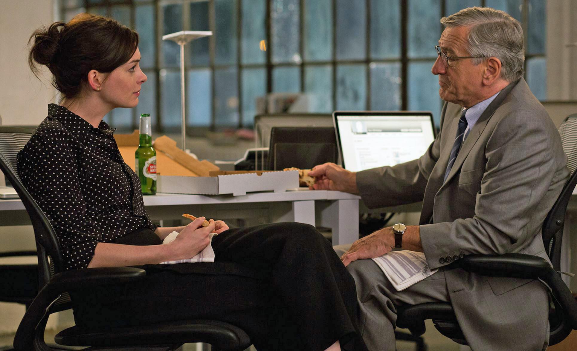 Photo courtesy of theinternmovie.com