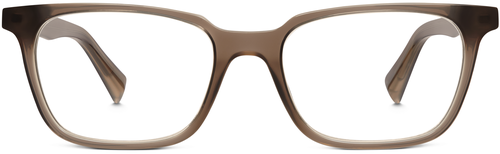 Barnett frame in the Quail Egg Grey color.