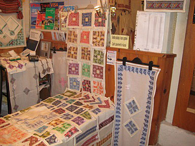 Beautiful linens sold at Bačan Handmade Products, Prijeko 6